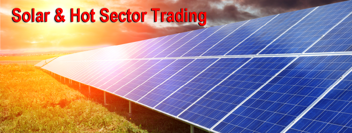 Solar & Sector ETF Trading Alerts